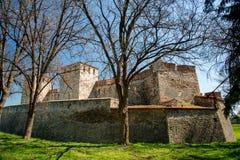 Baba Vida - gammal medeltida fästning i Vidin, i nordvästlig Bulgarien Lopp till Bulgarienbegreppet royaltyfri fotografi