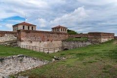 Baba Vida ist eine mittelalterliche Festung in Vidin in nordwestlichem Bulgarien und der Primärmarkstein der Stadt stockfoto