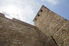 Baba Vida medeltida fästning arkivbild