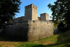 Baba Vida medeltida fästning i Vidin, Bulgarien arkivbild