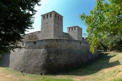 Baba Vida medeltida fästning i Vidin, Bulgarien fotografering för bildbyråer