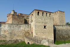 Baba Vida stone fortress in Vidin, Bulgaria on Danube river bank Royalty Free Stock Photography