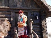 Baba Yaga im Sochi-Park Adler, Krasnodarsky-krai, Russland Stockfotografie