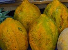 Babaco frukt Arkivbild