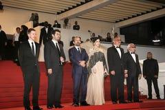 Babak Karimi, Taraneh Alidoosti, Asghar Farhadi,  Shahab Hossein Stock Photo