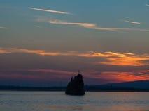 Babakayrots dichtbij Moldavië bij de ingang van de rivier Donau op de Roemeen Royalty-vrije Stock Foto