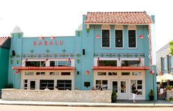 Babalu's Tacos and Tapas, Overton Square Memphis Stock Photography