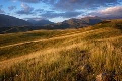 babaytag περιοχή του Ουζμπεκιστάν βουνών βραδιού Στοκ φωτογραφία με δικαίωμα ελεύθερης χρήσης