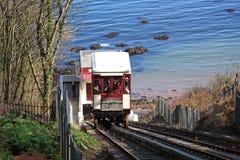 Babbacombe Cliff Railway Imagen de archivo libre de regalías