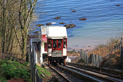 Babbacombe Cliff Railway Immagine Stock Libera da Diritti