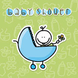 Babby design Royalty Free Stock Images