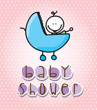 Babby shower Stock Photo
