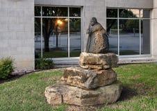 ` babci ` Colleen Madamombe, Hall park, Frisco, Teksas zdjęcia royalty free