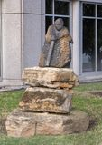 ` babci ` Colleen Madamombe, Hall park, Frisco, Teksas zdjęcie royalty free
