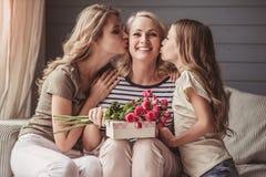 Babci ` s wakacje powitania zdjęcia royalty free