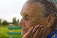 babcia Obraz Royalty Free
