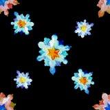 Babcia patchworku pstrobarwna kołderka ilustracja wektor