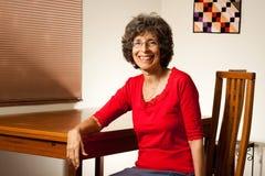 babcia portret szczęśliwy roześmiany Zdjęcie Stock