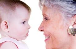 babcia rodzinna Zdjęcie Royalty Free
