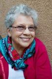 babcia uśmiecha się cukierki zdjęcia stock