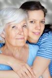 babcia wnuczki Obraz Stock