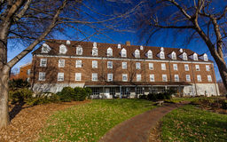 Babcock Dormitory at Salem College Royalty Free Stock Image
