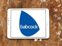 Babcock företagslogo arkivbild