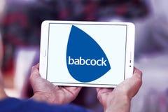 Babcock företagslogo royaltyfri foto