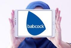 Babcock företagslogo royaltyfria bilder