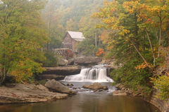Babcock Grist Mill Stock Image
