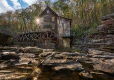 Babcock mäld maler i West Virginia royaltyfri fotografi