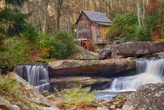 Babcock Mühle im Herbst lizenzfreies stockfoto