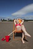 babe παραλία Στοκ Εικόνες