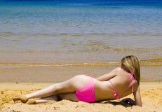 babe bikini Στοκ Φωτογραφίες