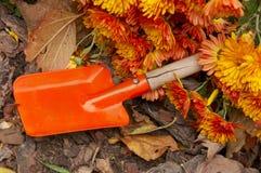 Babe garden spade Stock Image