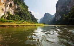 BaBe lake. Serene BaBe Lake in Vietnam stock image