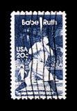 Babe Ruth, serie, circa 1983 immagini stock libere da diritti