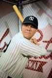 Babe Ruth Wax Figure Stock Photos