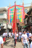 Babeczka festiwal w Cheung Chau, Hong Kong 2015 Fotografia Stock