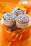 babeczka Halloween Obraz Royalty Free