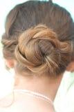 Babeczka włosy Fotografia Stock