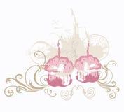 babeczki Obrazy Royalty Free