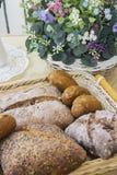 Babeczki, chleb i torty, zdjęcia royalty free