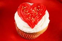babeczki dzień s valentine Zdjęcie Royalty Free