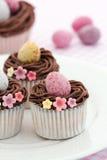 babeczki Easter Obraz Royalty Free