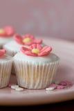 babeczki kwitną mini Zdjęcie Royalty Free