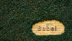 Babel Royalty Free Stock Image
