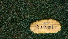 Babel Lizenzfreies Stockbild