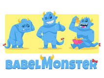 Babel Monster Immagine Stock
