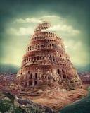 babel torn Arkivbild
